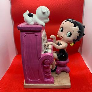 Betty Boop at the Piano music box circa 2000
